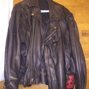 Harley Davidson heavy duty leather jacket